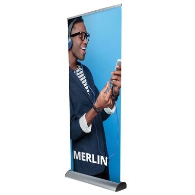 Merlin roll-up z wymienna kasetą klasy prestiż.